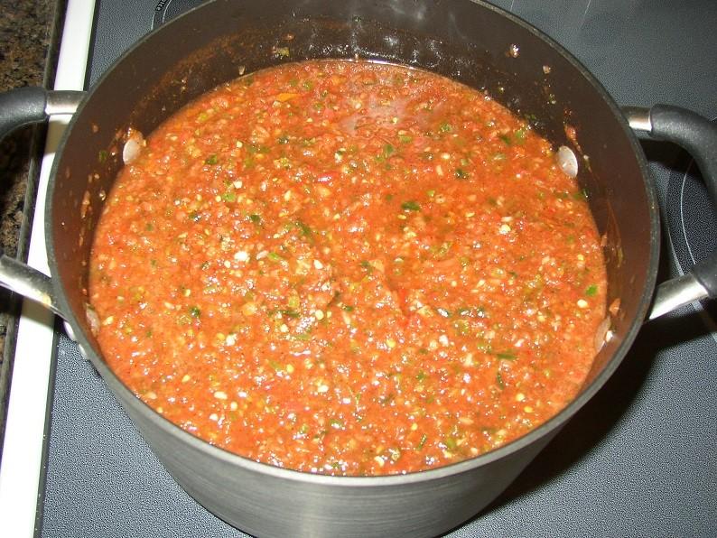 Round #3-canning Salsa P1010026