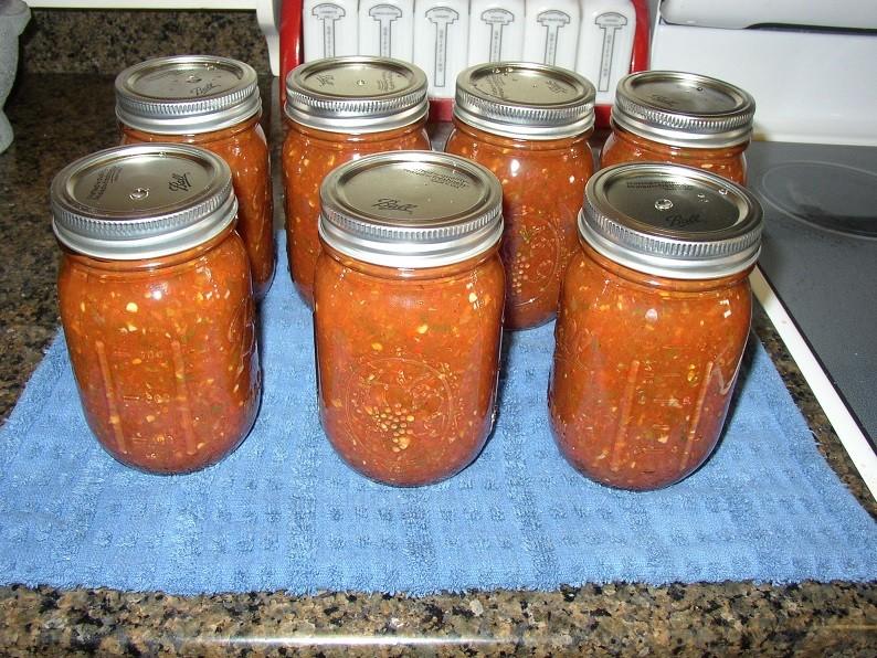 Round #3-canning Salsa P1010027