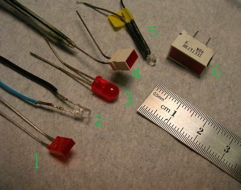 LEDs pour des maquettes Corvet10