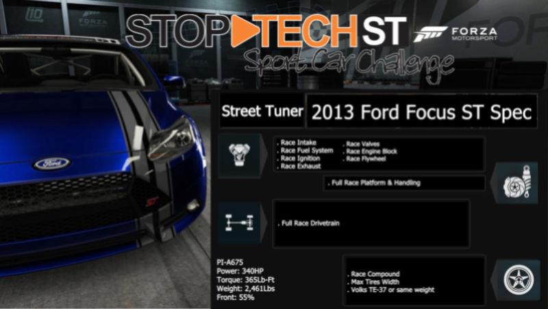 Stop-Tech Sport Car Challenge  2013fo10