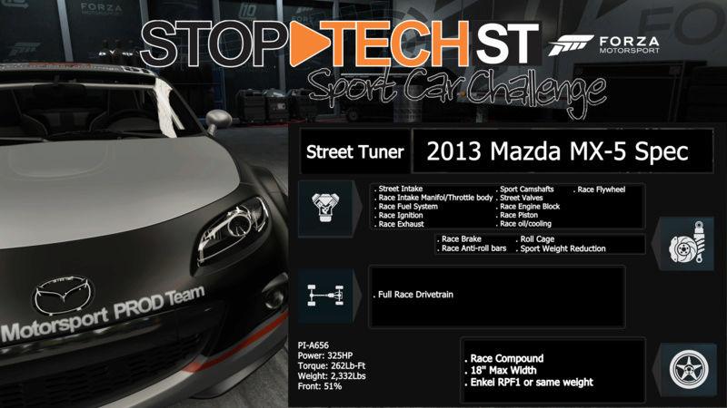 Stop-Tech Sport Car Challenge  2013ma10