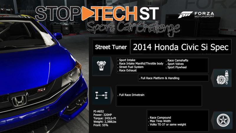 Stop-Tech Sport Car Challenge  2014ho10