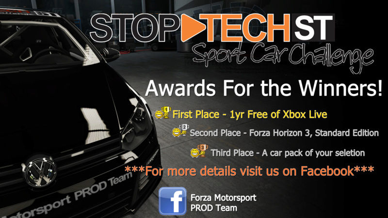Stop-Tech Sport Car Challenge  Flyer310