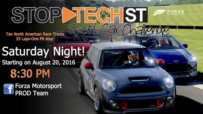 Stop-Tech Sport Car Challenge  Stsccf10