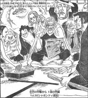 One Piece Manga 830: Spoiler 59ed9a10