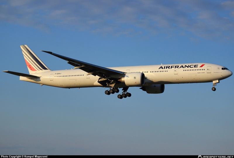 Un triple 7 chez Air France Image190