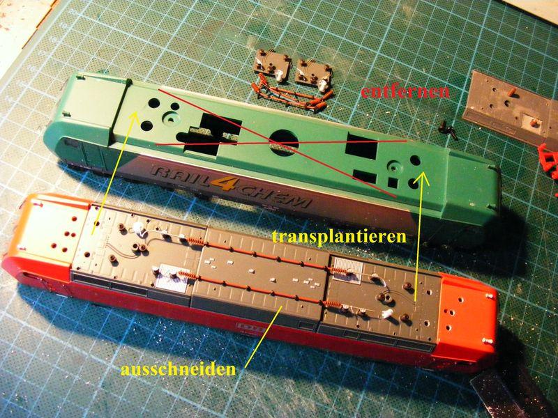 Umbau BR 185 Dscf6115