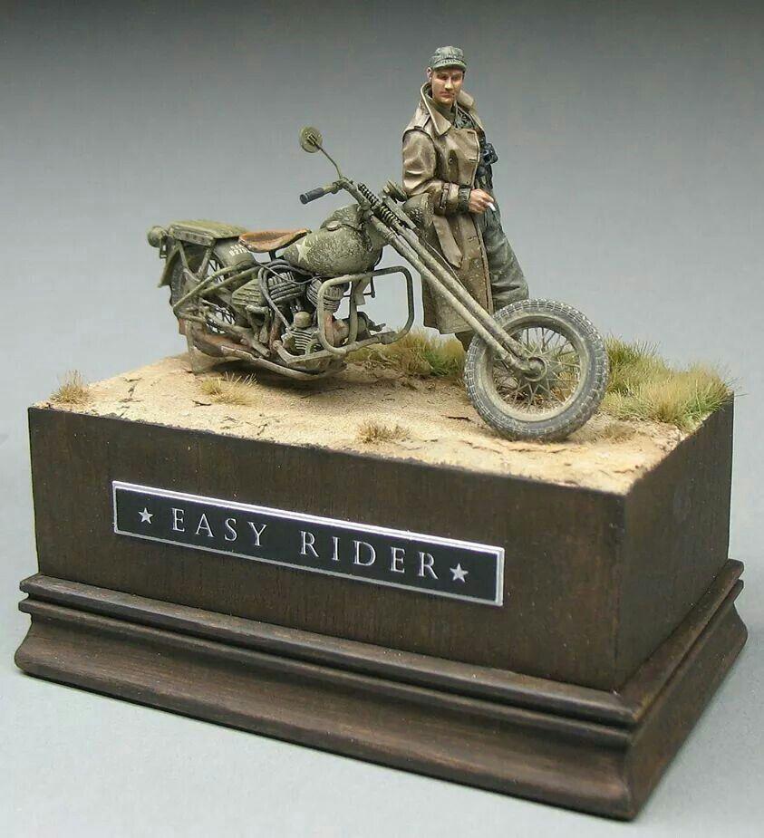 Jouets, jeux anciens et miniatures sur le monde Biker - Page 24 96515210