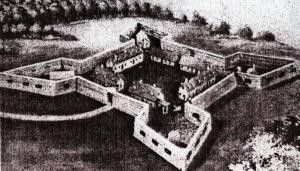 Le Fort de Chartres en Illinois 300x1710