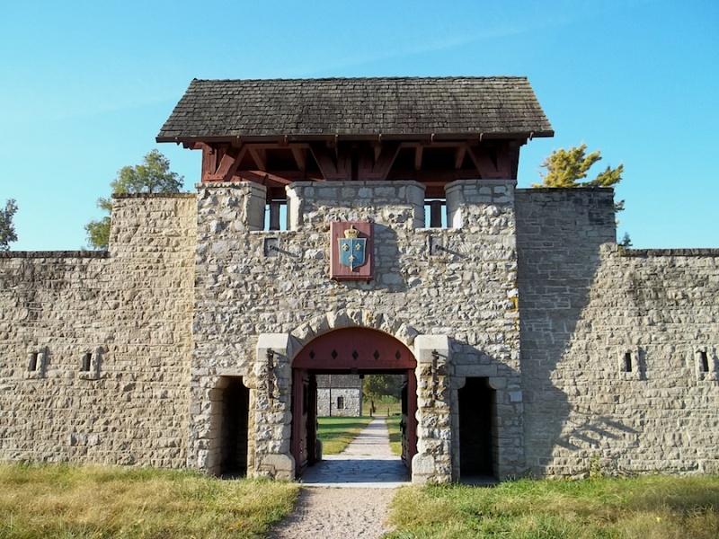 Le Fort de Chartres en Illinois 6932_f10