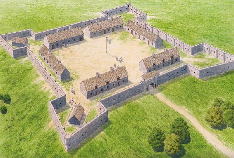 Le Fort de Chartres en Illinois Fort_c11