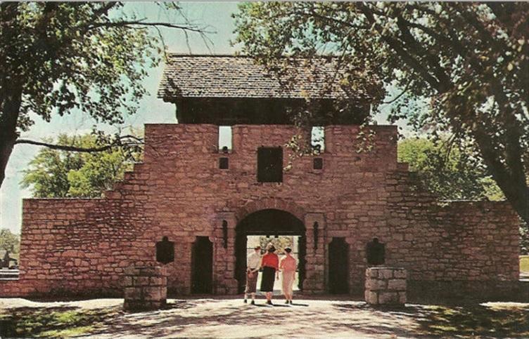 Le Fort de Chartres en Illinois Fort_c14