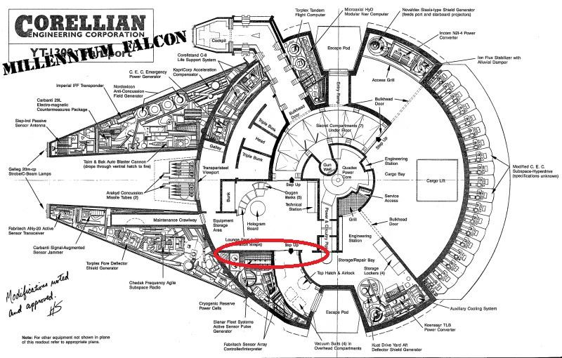 LrdSatyr's DeAgostini Millenium Falcon Diorama Build - Page 6 M21010