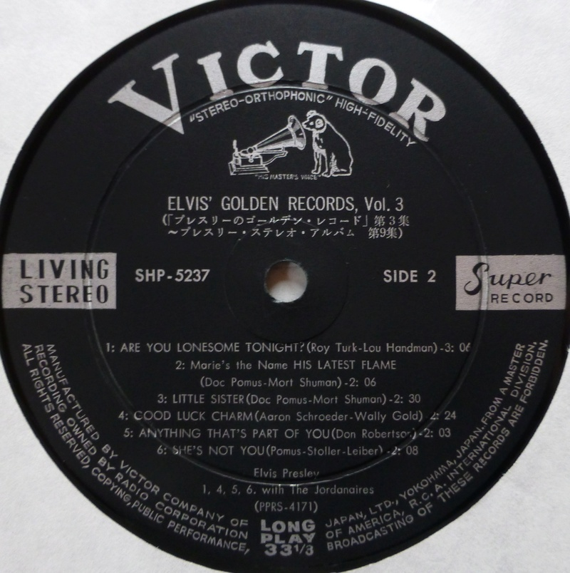 ELVIS' GOLDEN RECORDS VOL. 3 P1060924