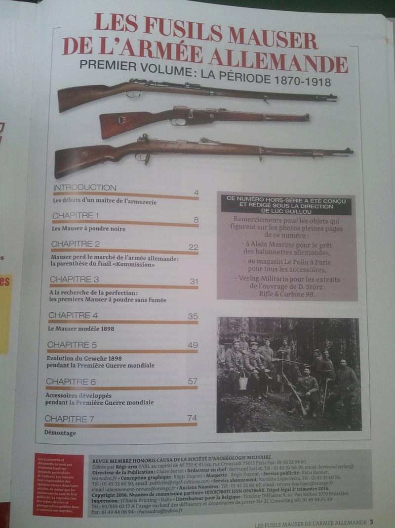 Le nouveau HORS SERIE de la GAZETTE DES ARMES - Page 2 Photo030