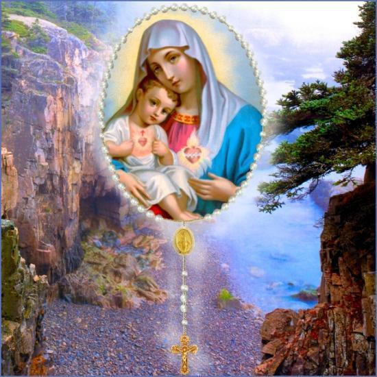 Le chapelet des sept joies de Marie ! 22923610