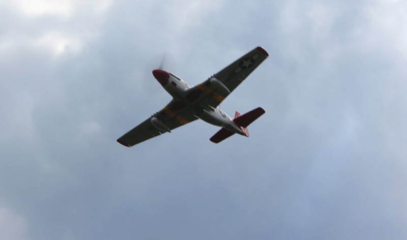 P-51 Mustang Red Tail 1200-i11