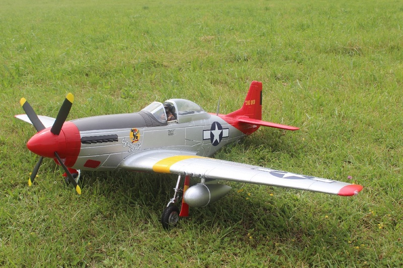 P-51 Mustang Red Tail 1200-i14