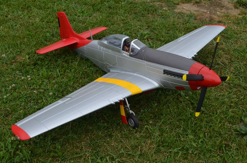 P-51 Mustang Red Tail Dsc_0010