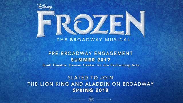 [Disney On Broadway] FROZEN - The Musical 75418310
