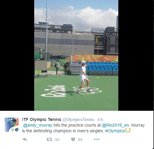 JEUX OLYMPIQUES RIO 2016 TENNIS MESSIEURS - Page 2 Murray10