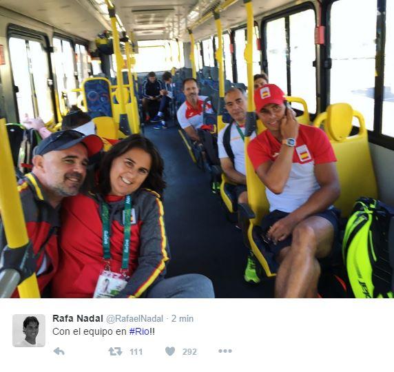 JEUX OLYMPIQUES RIO 2016 TENNIS MESSIEURS Rafa210