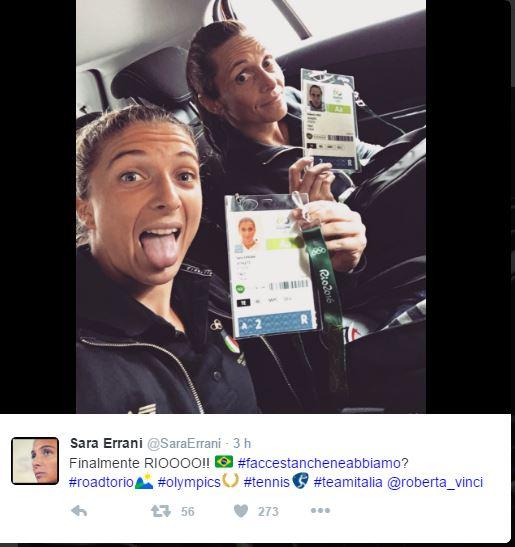 JEUX OLYMPIQUES RIO 2016  TENNIS DAMES Rio211