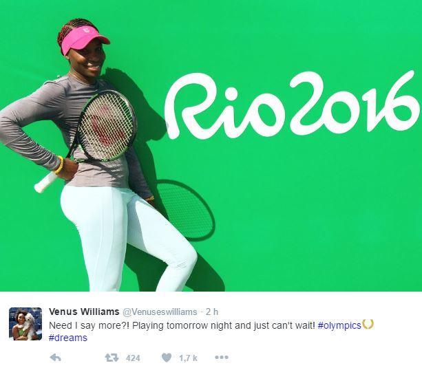 JEUX OLYMPIQUES RIO 2016  TENNIS DAMES - Page 2 Rio310