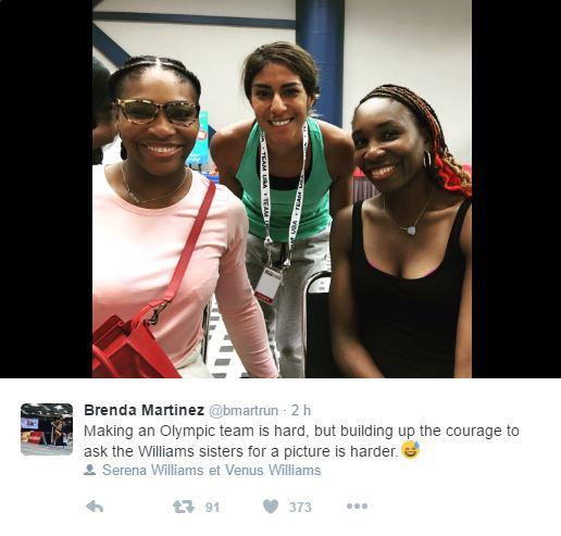 JEUX OLYMPIQUES RIO 2016  TENNIS DAMES Venus10