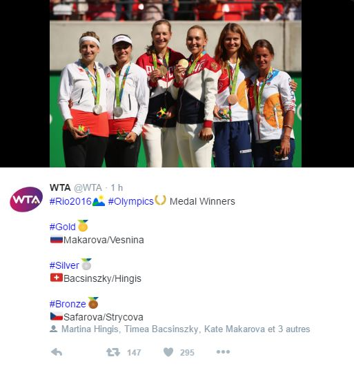 JEUX OLYMPIQUES RIO 2016  TENNIS DAMES - Page 8 Wta10