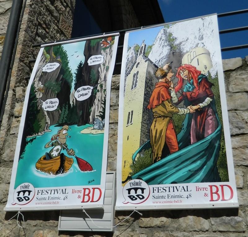 Festival Livres et BD Sainte Enimie 25 et 26 juin 2016 Dscn9215