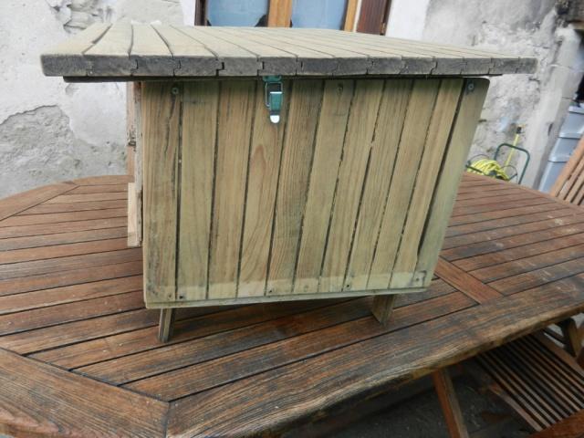 Fabrication d'un petit poulailler d'appoint Clapie14
