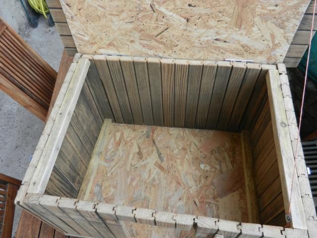 Fabrication d'un petit poulailler d'appoint Clapie18