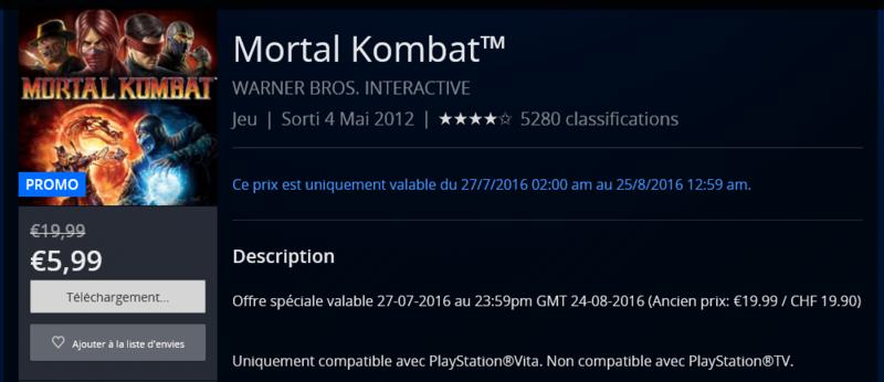 [DIVERS] Mortal kombat 10 (x) game-play Mortal10