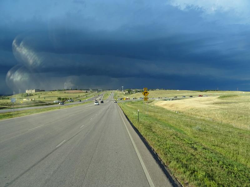 orage dans le Dakota du Sud et lever de soleil Dsc00110