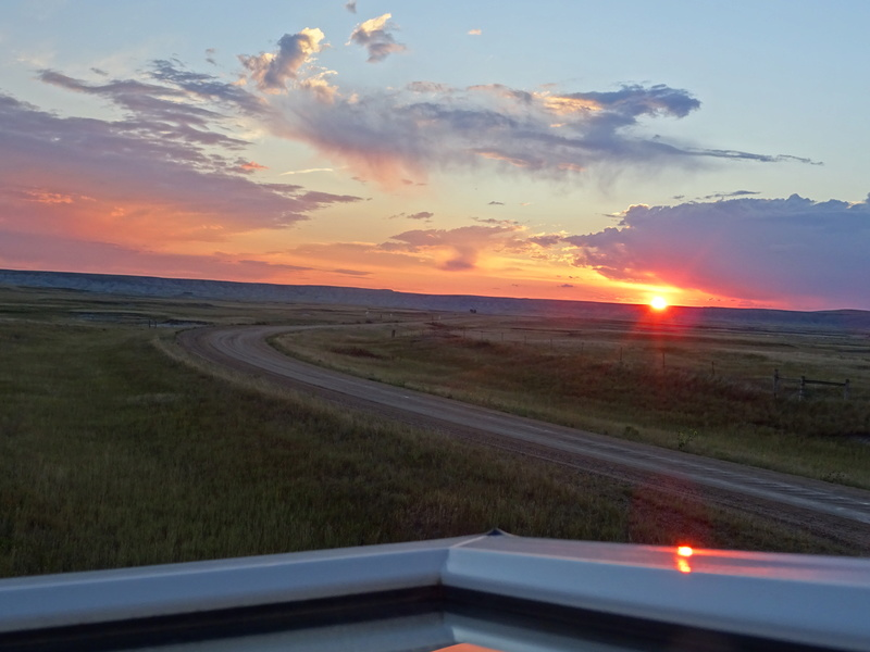 orage dans le Dakota du Sud et lever de soleil Dsc00111