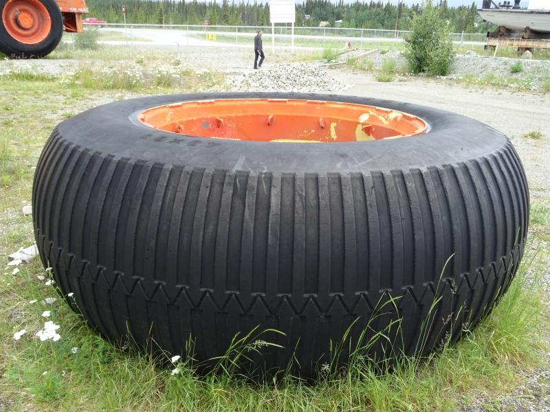 camping car lors de la construction de l'Alaska Highway...!!! Dsc03911