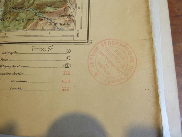 Cartes 1/50000 Algérie à dater Img_1035