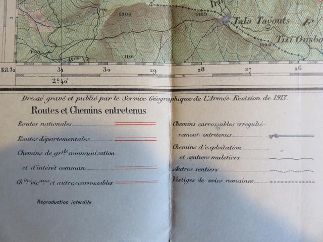 Cartes 1/50000 Algérie à dater Img_1037