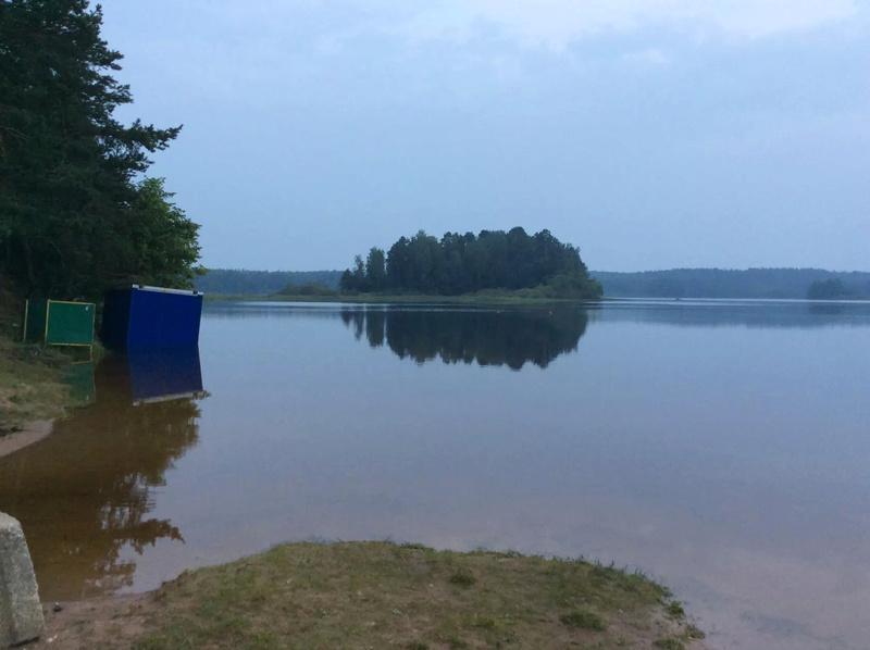 На реках и озерах национального парка уровень воды держится на высоких отметках Image10