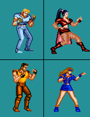 Night Slashers - A streets of Rage Remake mod Los_cu11