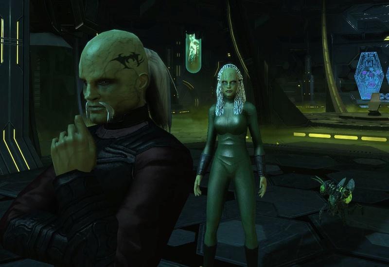 Wraith Queen@alexpov - provenant de StarGate Atlantis Captu229
