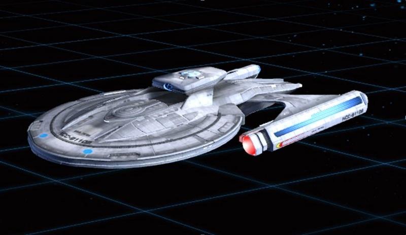 U.S.S. Callisto - vaisseau de reconnaissance scientifique de classe Luna Captu313