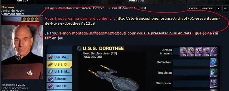 Présentation de l'U.S.S. Dorothée Captur23