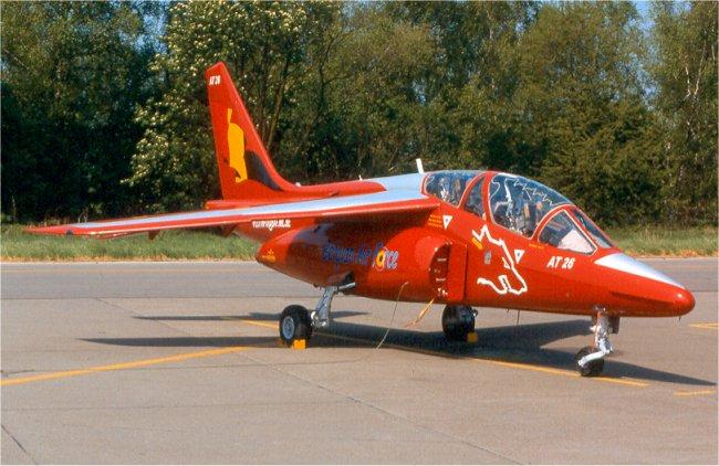 Alpha jet AT26 Belgian Air Force 2001/2003 (Revell)  Alpha_10