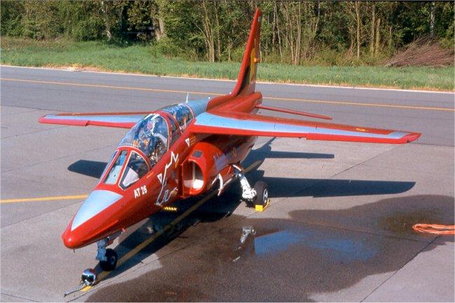 Alpha jet AT26 Belgian Air Force 2001/2003 (Revell)  Alpha_11