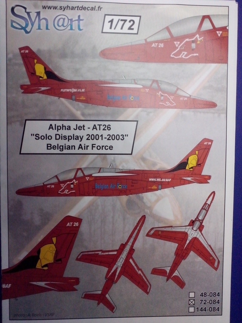 Alpha jet AT26 Belgian Air Force 2001/2003 (Revell)  Img_2012