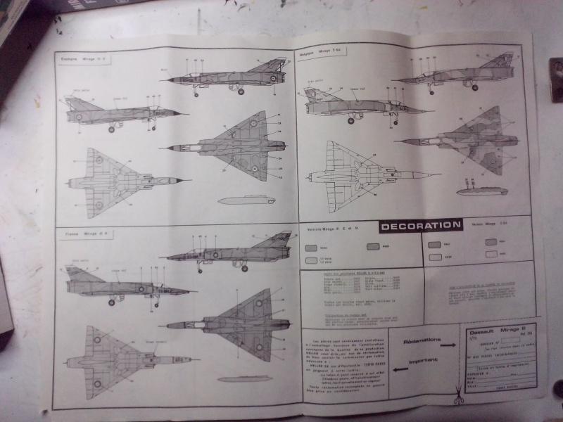 Mirage III RD de ER 3/33 Moselle en 1988 (Heller) Img_2066