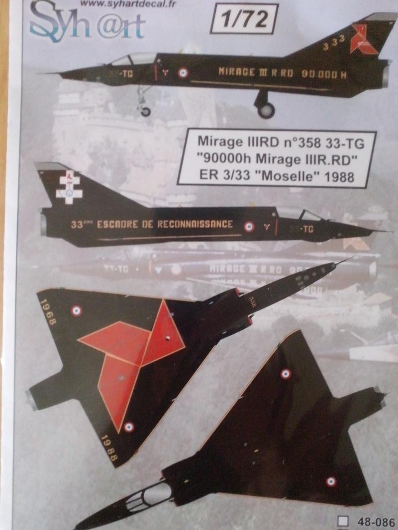 Mirage III RD de ER 3/33 Moselle en 1988 (Heller) Img_2068