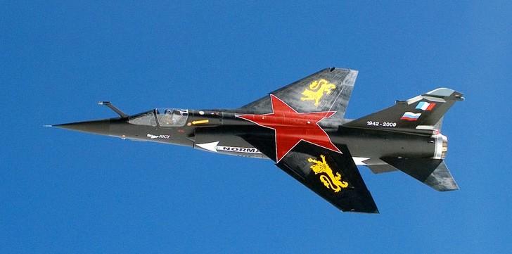 Mirage F-1 CT (Heller) Dissolution Normandie Nièmen 2009  Neuneu10